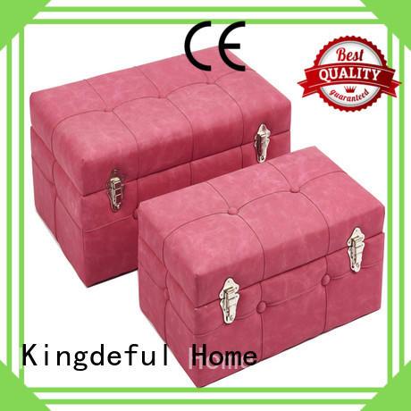 Kingdeful small storage stool manufacturer for club