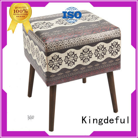 bright ottoman stool with storage series for hotel