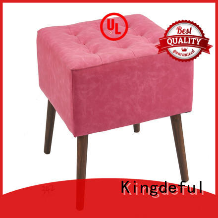 Kingdeful soft small footstool with storage from China for hotel