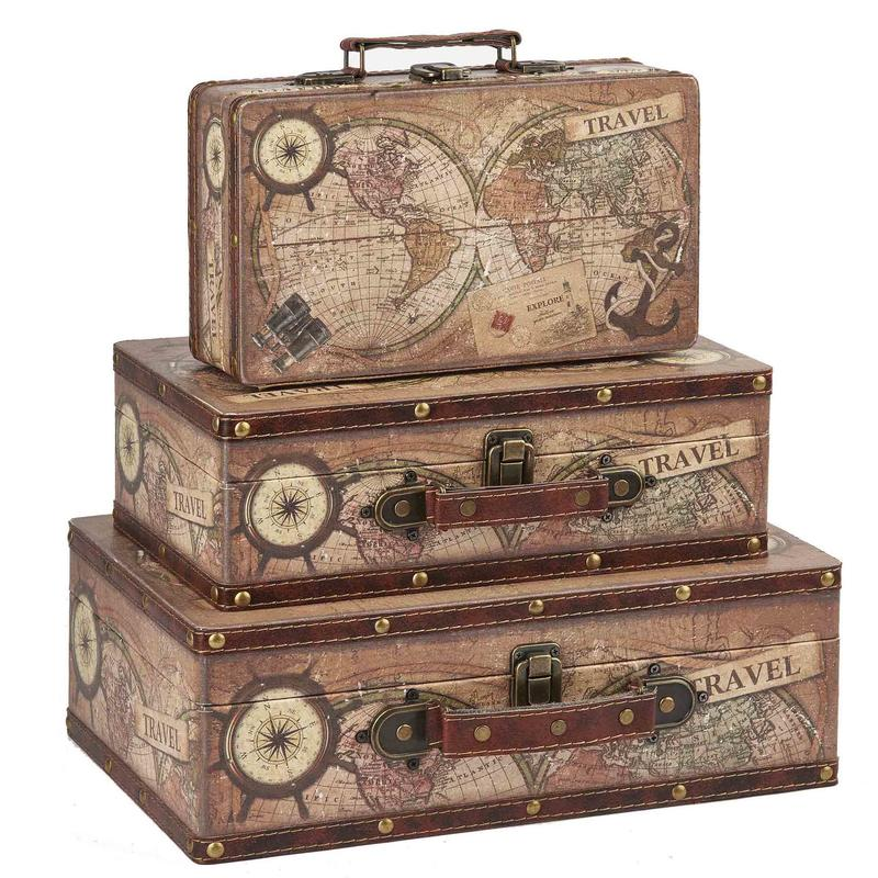 Vintage Pattern Suitcase Wholesale