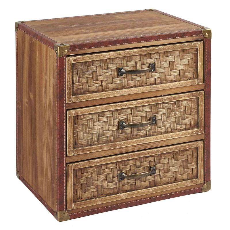 Bamboo Weaving Chest of Drawers Wholesale