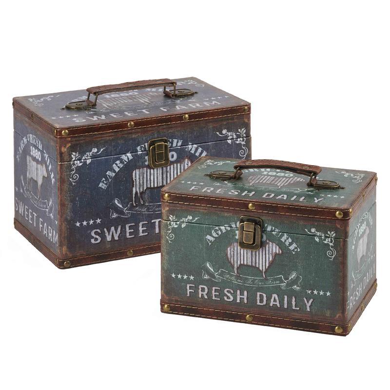 Vintage Suitcase Boxes Wholesale