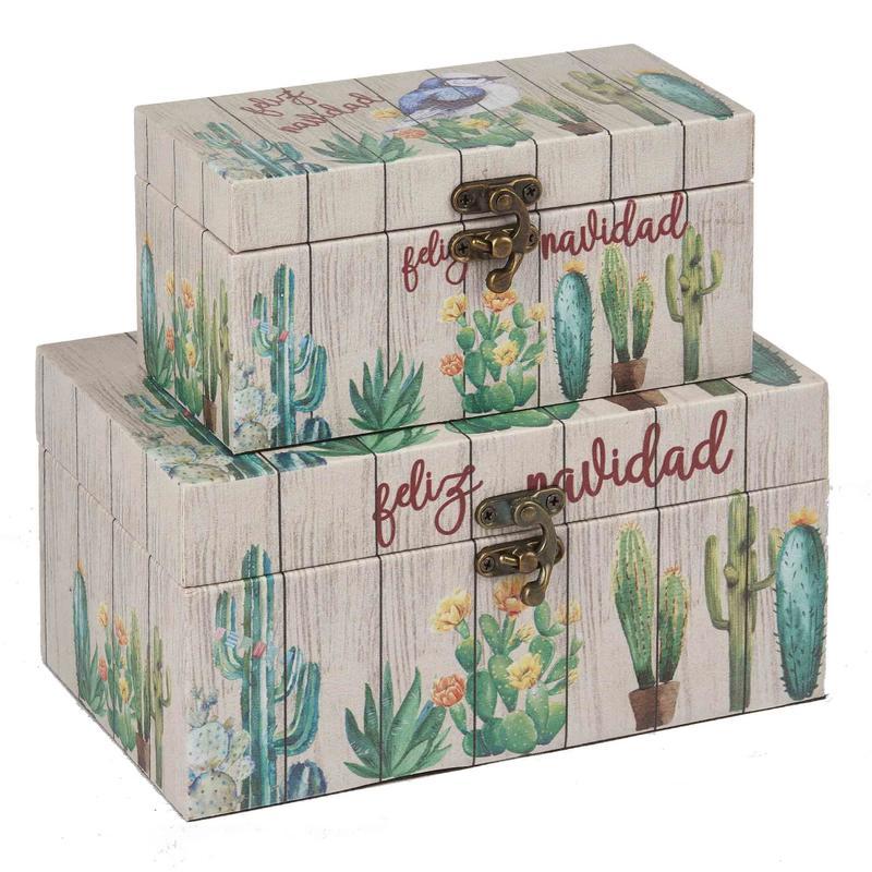 Adorable Plants Patterned boxes Wholesale