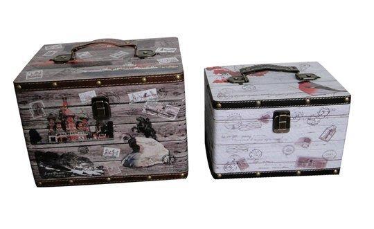 Wooden Suitcase SJ14
