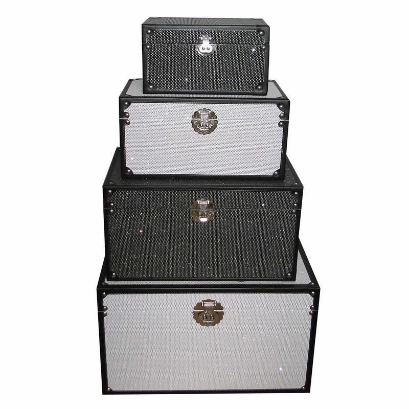 White Storage Trunk SJ14087