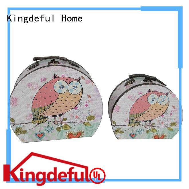 Kingdeful mini cheap vintage suitcase manufacturer for travel