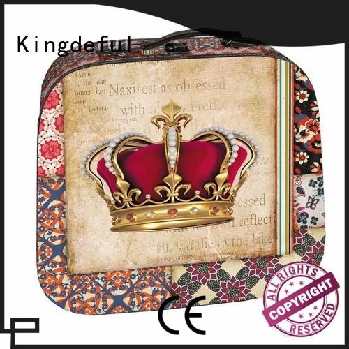Kingdeful vintage vintage style suitcase manufacturer for trip