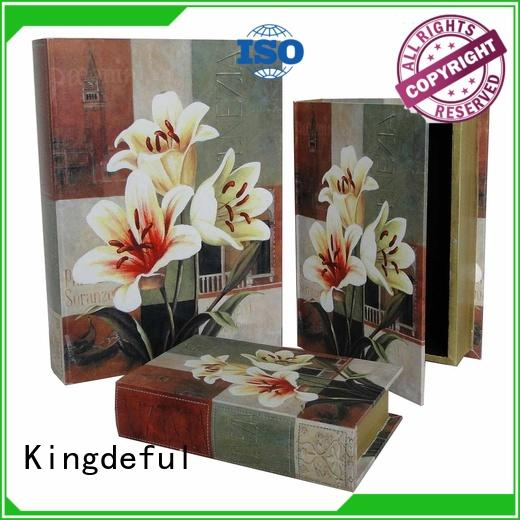 Kingdeful gradual Decorative Book Boxes Wholesale series for kids