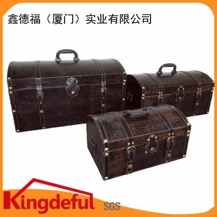 Vintage Luggage Company boxes for trip Kingdeful