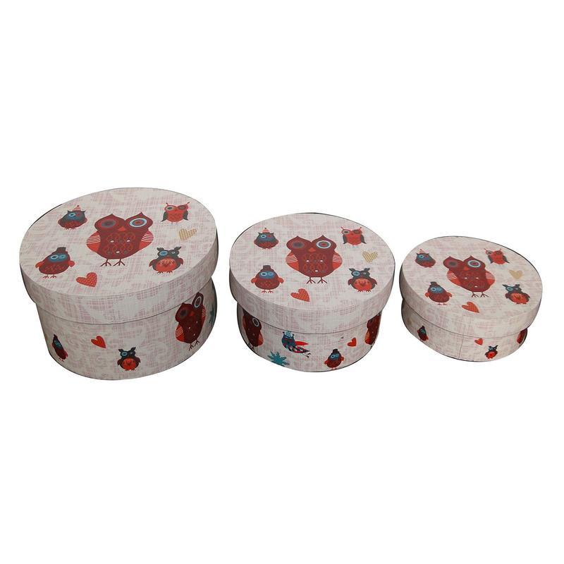Round Hat Boxes SJ14096