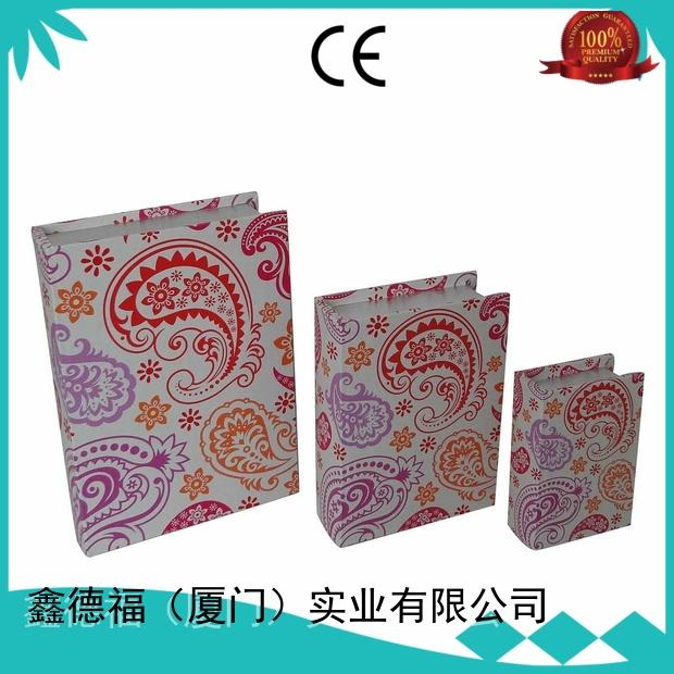 Kingdeful old style book box directly sale for kids
