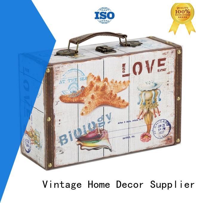 Vintage Suitcase Wholesale floral for outdoor Kingdeful