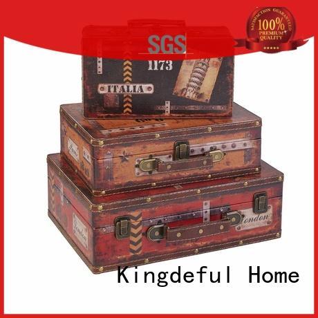 Vintage Leather Suitcases SJ15369
