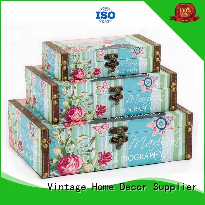Kingdeful hinged cheap wooden crates wholesale for indoors