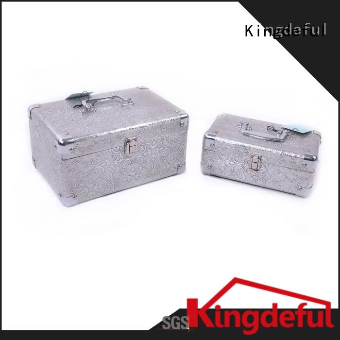 Kingdeful wooden box with lid personalized for hotel