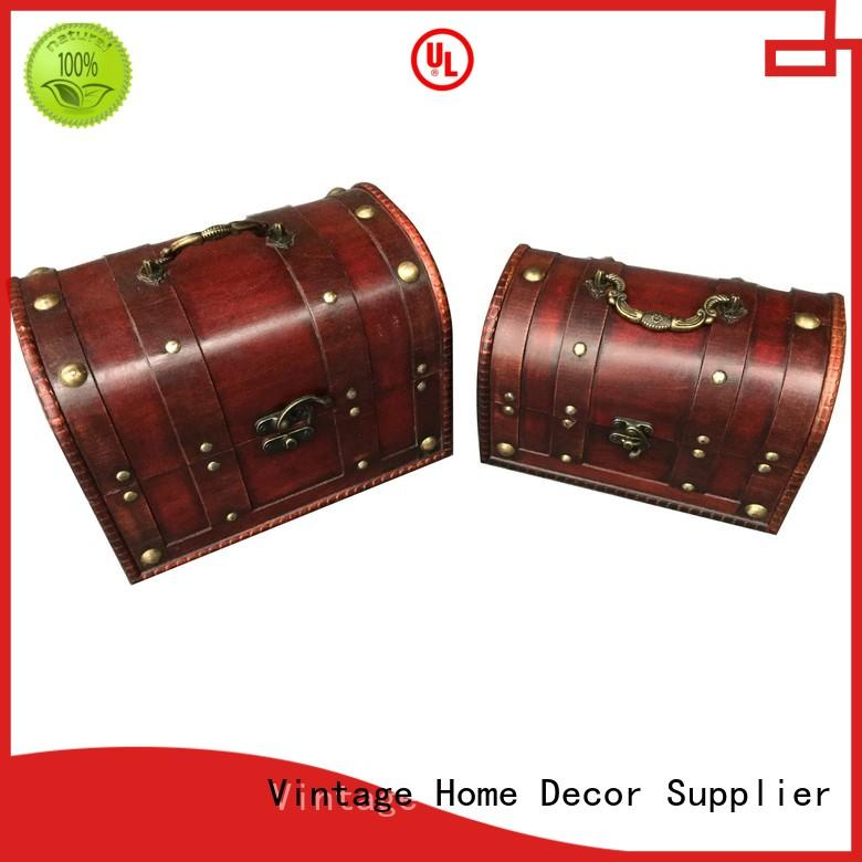 decorative antique trunks factory for hotel