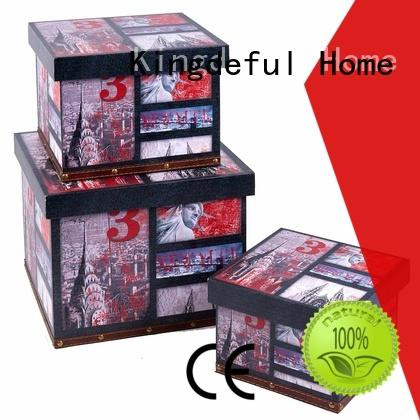 Kingdeful cute wooden box with lid supplier for hotel