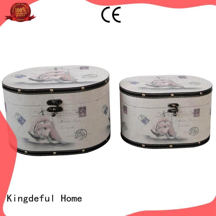 Kingdeful hinged vintage style box supplier for home