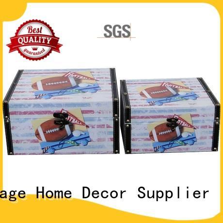 Kingdeful colourful vintage wooden boxes for sale wholesale for hotel