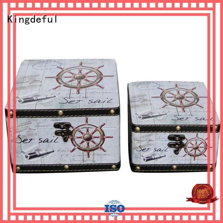 Kingdeful chic antique box wholesale for indoors