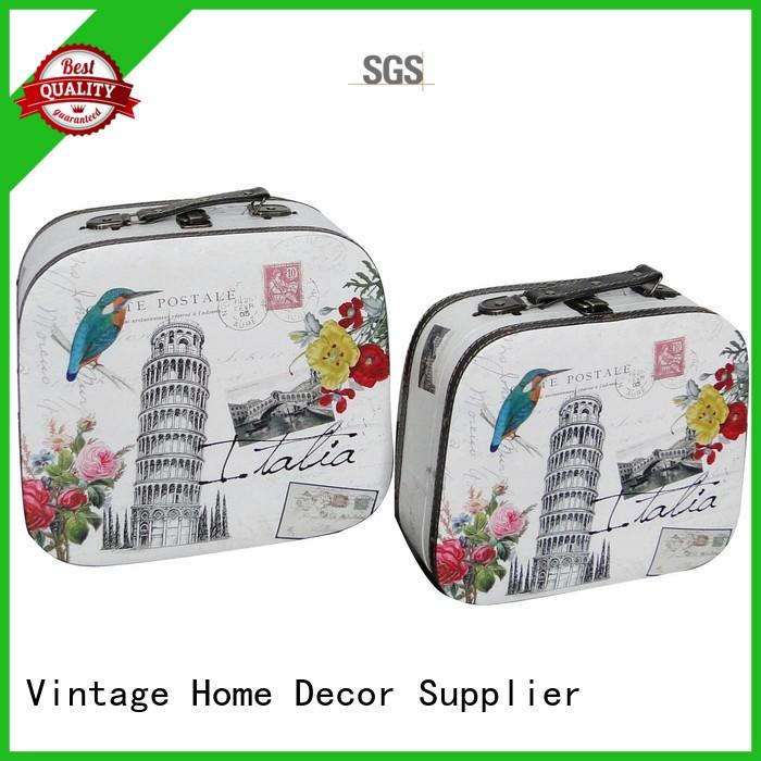 small antique suitcase factory for travel