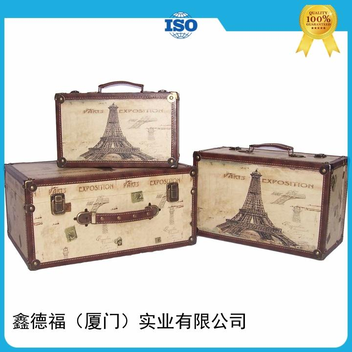 mini antique suitcase with good price for business