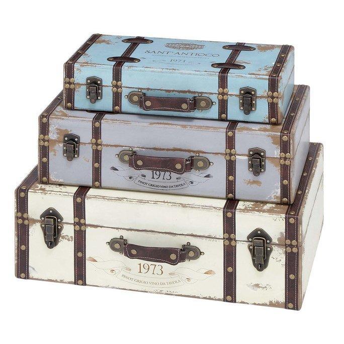 Wholesale Decorative Vintage Suitcases KD1284-B