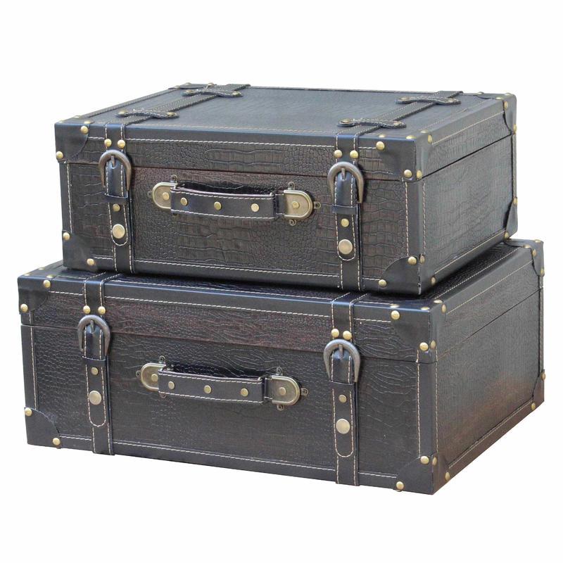 Retro Suitcase Wholesale SJ07231B DG