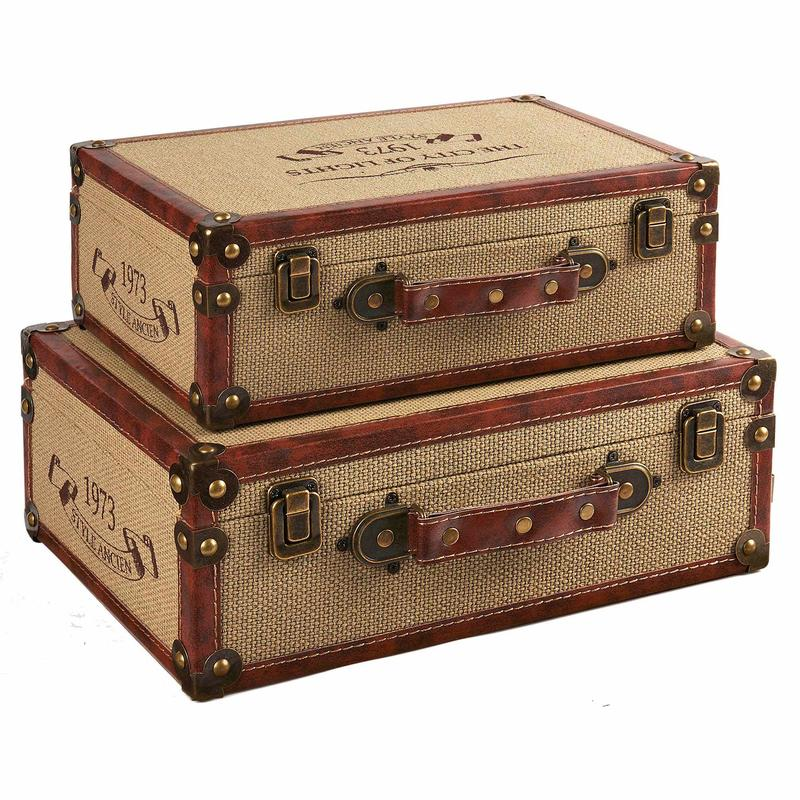 Wholesale Wooden Suitcases SJ16471