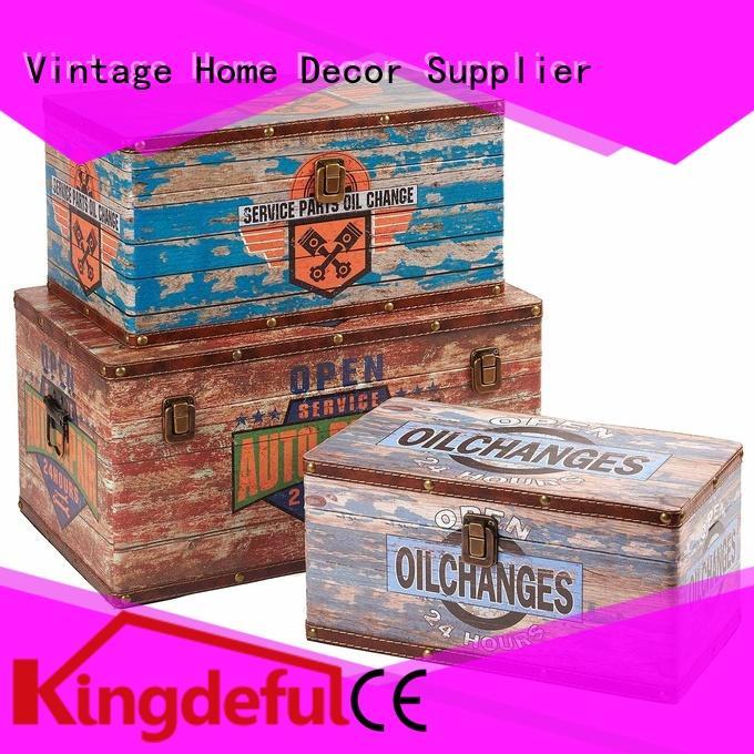 Kingdeful vintage storage trunks manufacturer for storage