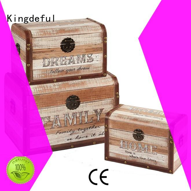 Kingdeful vintage trunks and chests from China for home