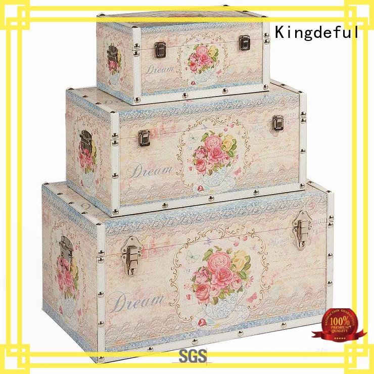 Kingdeful trunk suitcase from China for home