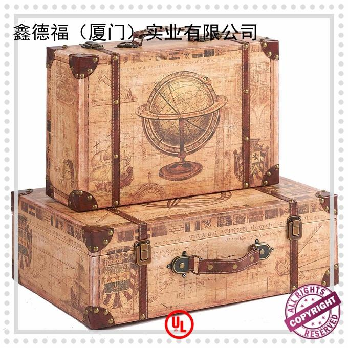 Kingdeful vintage luggage design for outdoor