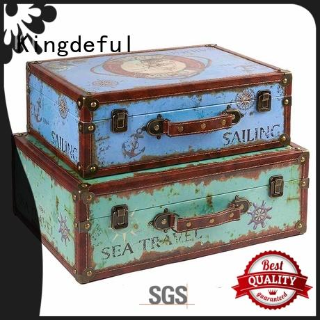 shaped vintage luggage with good price for outdoor