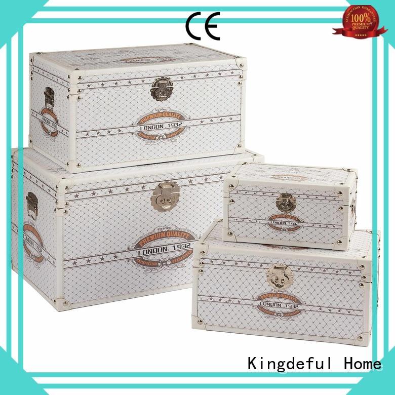 white vintage storage trunks manufacturer for hotel