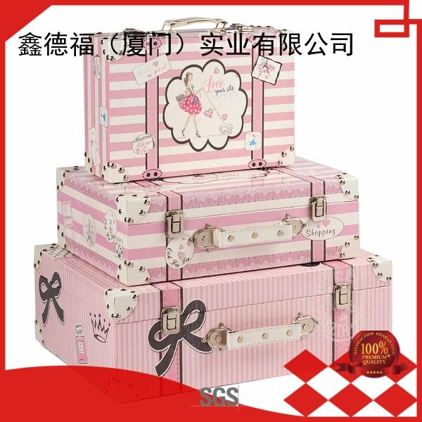 Kingdeful antique suitcase with good price for outdoor