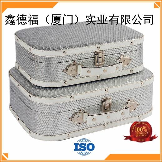 Kingdeful small vintage luggage sets design for trip