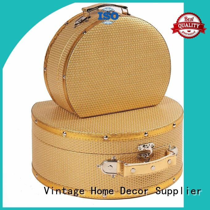 Kingdeful vintage suitcase with good price for outdoor