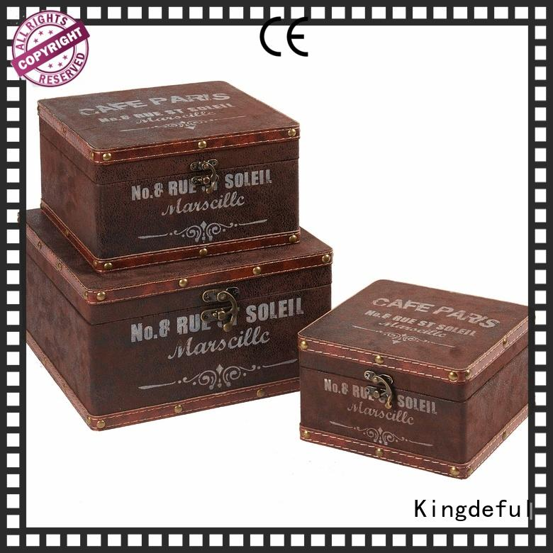 Quality Kingdeful Brand Decorative Boxes Suppliers accent vanity