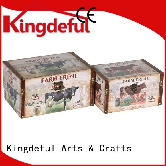 Decorative Boxes Suppliers ring storage Kingdeful Brand company