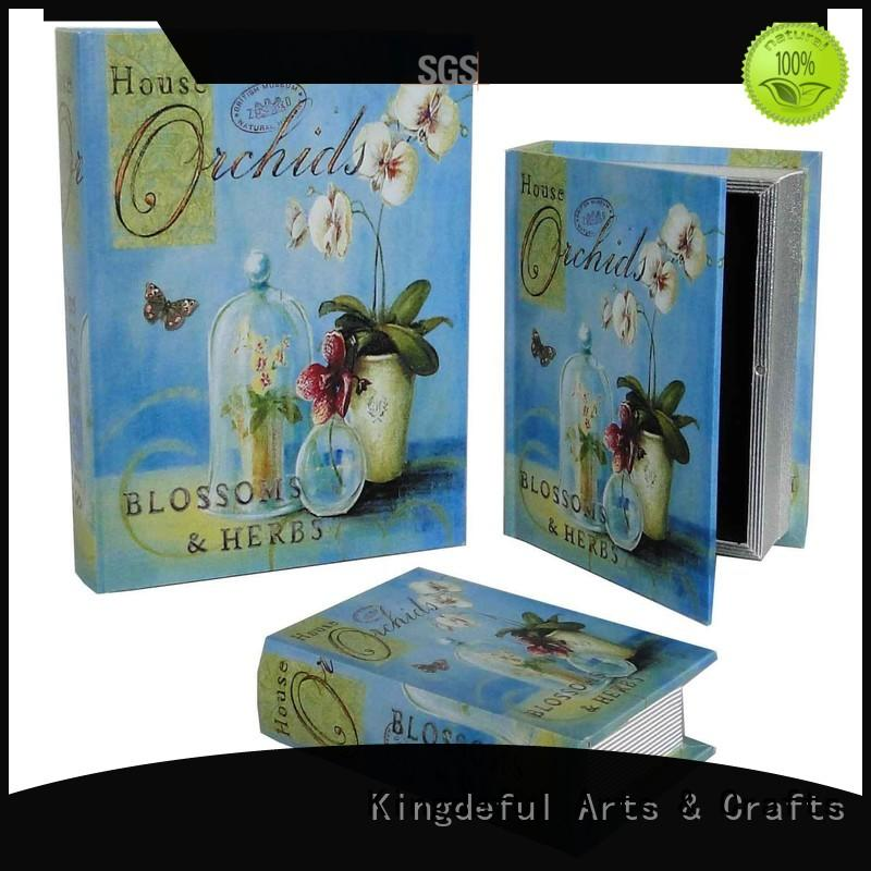 books design decorative book boxes Kingdeful Brand