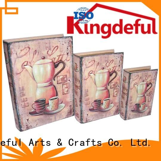 boxes gift decorative book boxes make Kingdeful Brand company