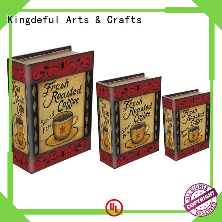 secret Decorative Book Boxes Wholesale trinket Kingdeful company