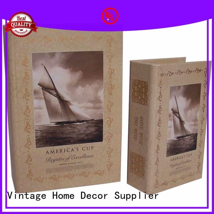 custom gift OEM decorative book boxes Kingdeful