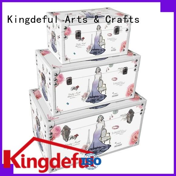 Wholesale bins antique trunks Kingdeful Brand