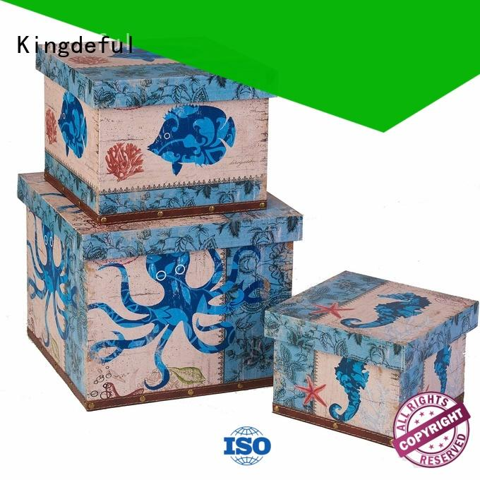 Wholesale artificial Decorative Boxes Suppliers Kingdeful Brand