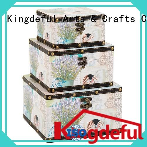 uk wooden box with lid make Kingdeful company