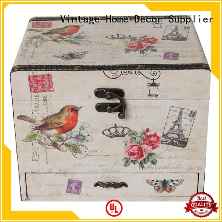 white memory Decorative Boxes Suppliers wholesale bespoke Kingdeful Brand