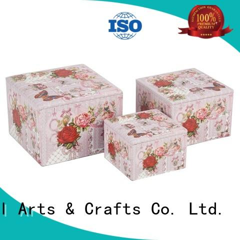 Decorative Boxes Suppliers vintage photo wooden box with lid Kingdeful Brand