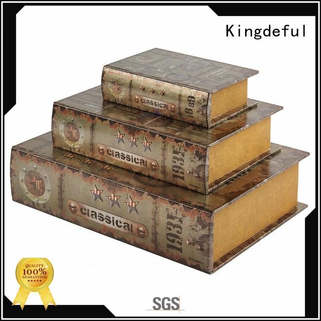 Decorative Book Boxes Wholesale vintage decorative chic Kingdeful Brand decorative book boxes